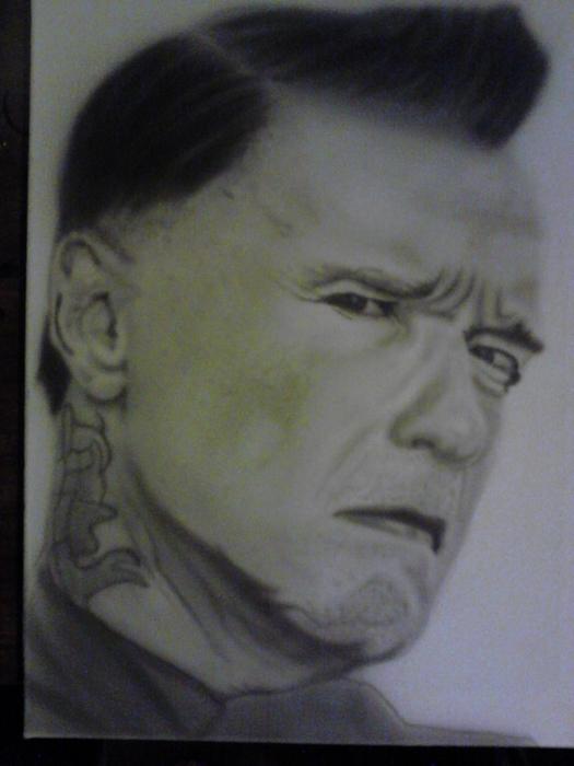 Arnold Schwarzenegger by Stu-Art-Designs